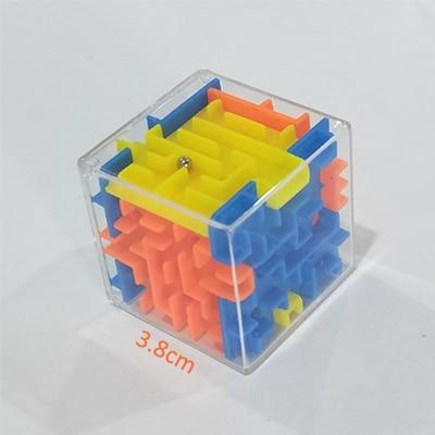 3D Cube Puzzle Maze Toy Hand Game - Swag Factory