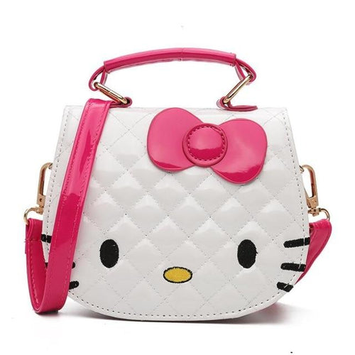 Cute Hello Kitty PU Leather Handbag - Swag Factory