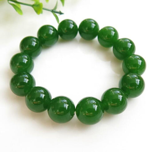 Natural Jasper Green Jade Bracelet - Swag Factory
