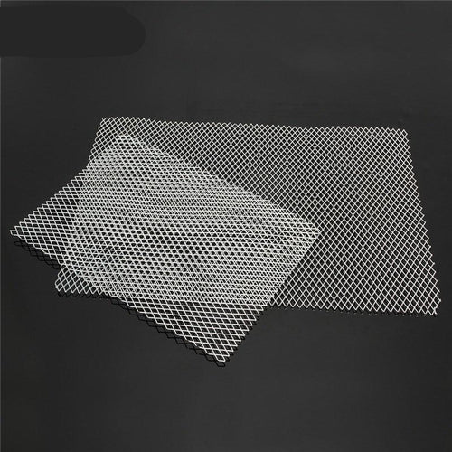 Aluminum Metal Mesh W Diamond Holes Plate - Swag Factory