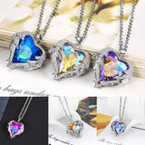 Crystal Heart Necklace - Swag Factory