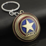 Captain America Shield Keychain