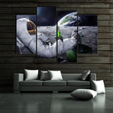 Canvas Space Wall Art - Swag Factory