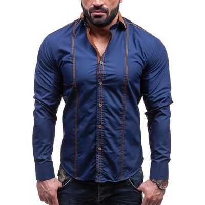 Mens Slim Fit Shirt - Swag Factory