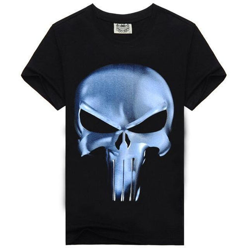 Punisher Cotton Mens Fashion T-Shirt - Swag Factory