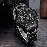 Black Vogue Military Watch - Swag Factory
