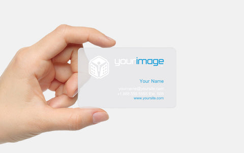 PVC Card - Frosted - Your Image
