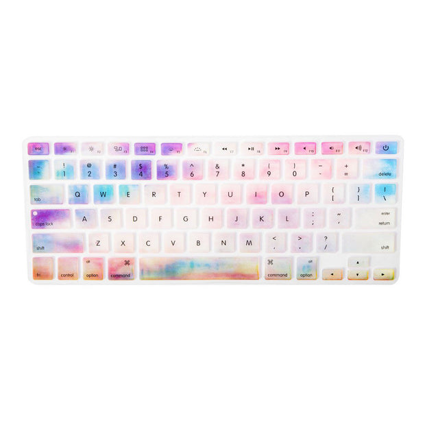 Macbook Keyboard Cover - Pink Galaxy - colourbanana