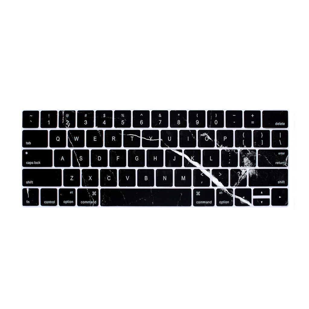 Macbook Keyboard Cover - Black Marble