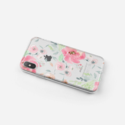 iPhone Case - Watercolor Red Rose