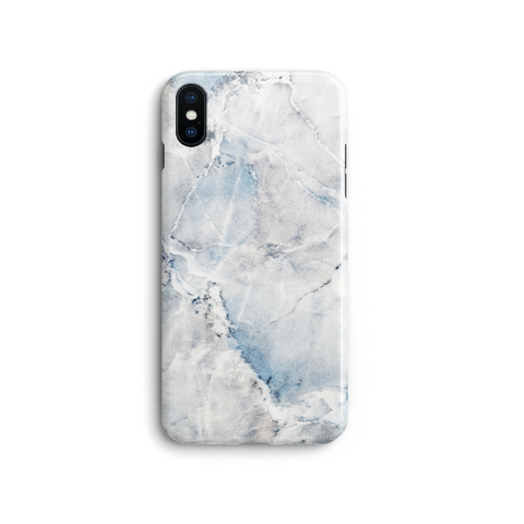 iPhone Case - Blue Hint Marble