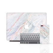 MacBook Case Set - Lacteous Marble
