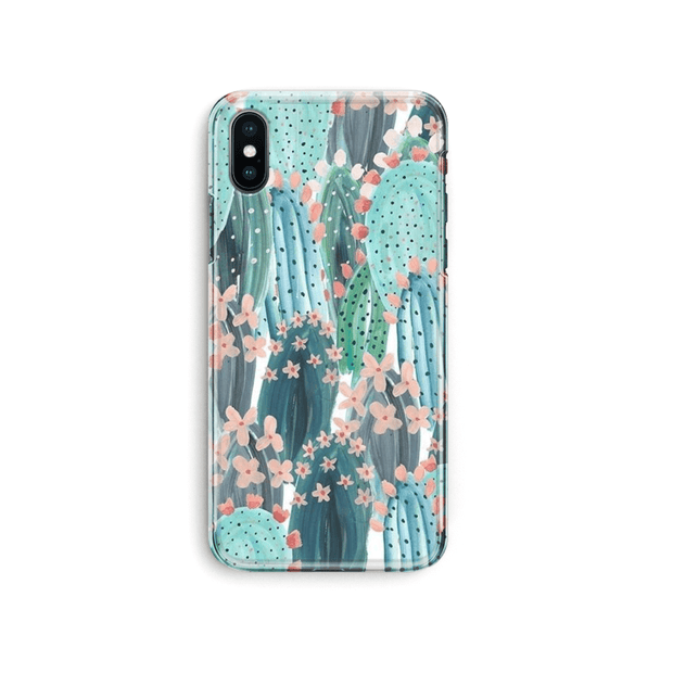iPhone Case -  Summer Cute Cactus