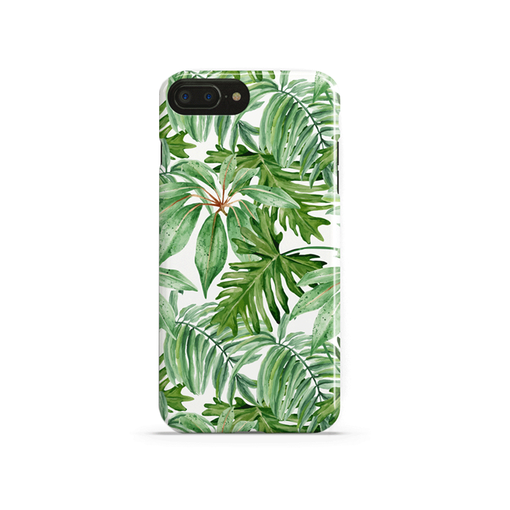 iPhone Case - Summer Palm Leaves - colourbanana