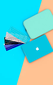 Macbook Keyboard Cover - Turquoise
