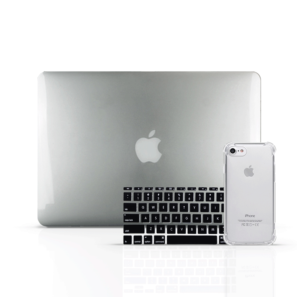MacBook Case Set - Sliver - colourbanana