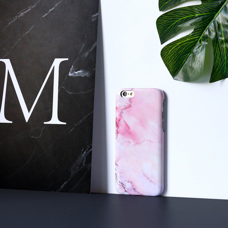 iPhone Case - Blushing Marble - colourbanana
