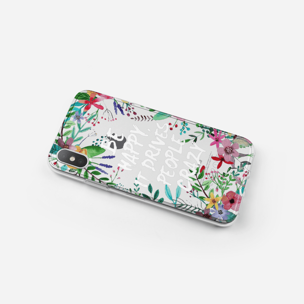 iPhone Case - Pansy Nosegay