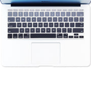 Macbook Keyboard Cover - Grey Gradient - colourbanana