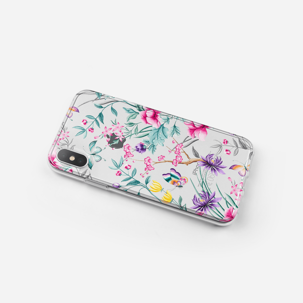iPhone Case - Chinoiserie Rosa