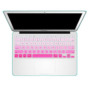 Macbook Keyboard Cover - Pink Gradient - colourbanana