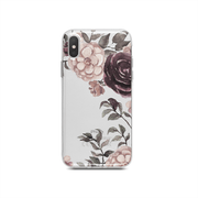 iPhone Case - Watercolor Loose Red Flowers