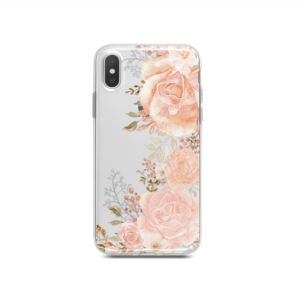 iPhone Case - Champagne Peony
