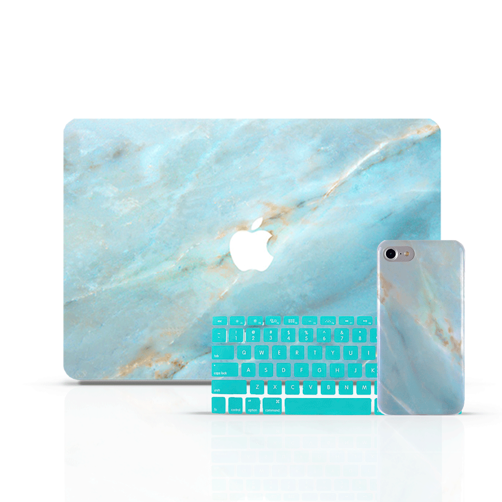 MacBook Skin Set - Emerald - colourbanana
