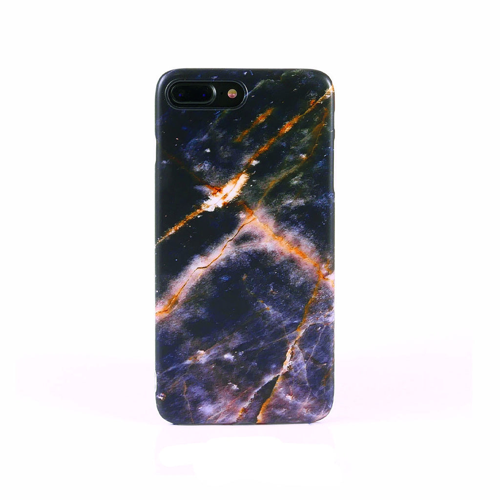 iPhone Case - Space Purple Marble - colourbanana