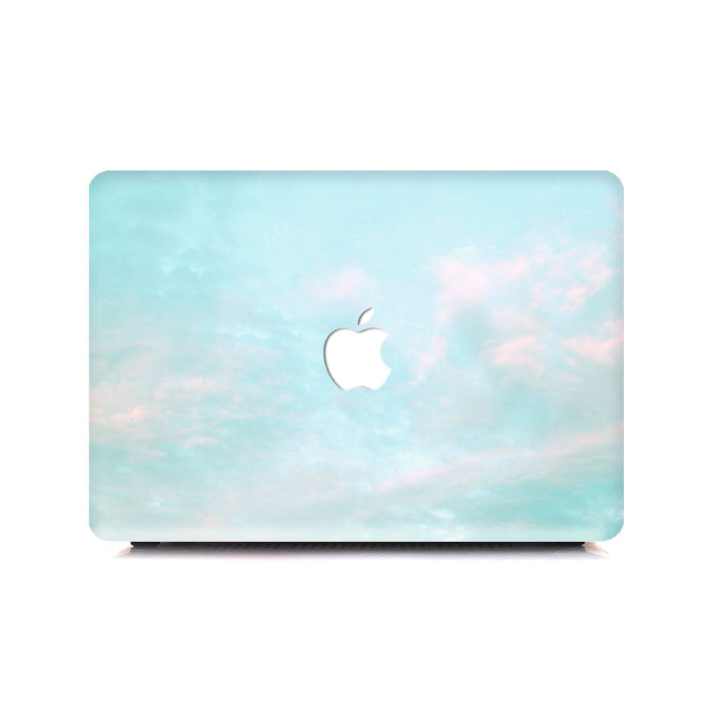 Macbook Case - The Vintage Cloudy Skies - colourbanana