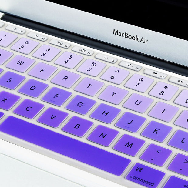 Macbook Keyboard Cover - Purple Gradient - colourbanana
