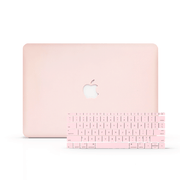 MacBook Case Set - Peach Case - colourbanana