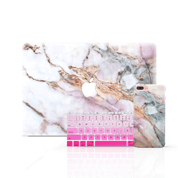 MacBook Skin Set - Star Marble - colourbanana