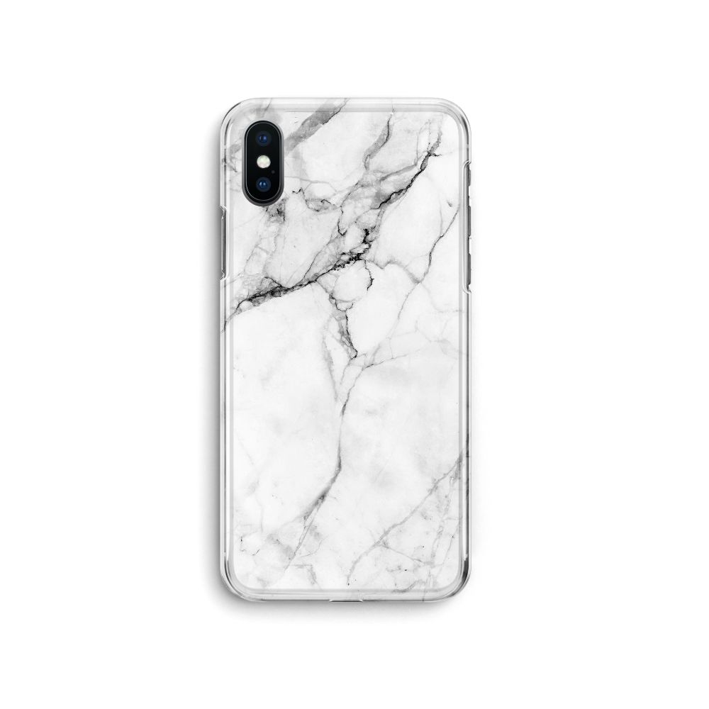 iPhone Case - White Marble