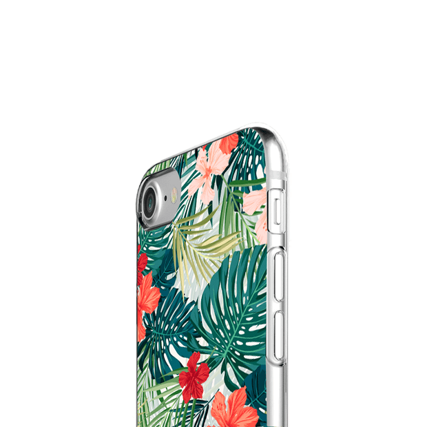 iPhone Case - Hawaiian Tropical Flowers - colourbanana