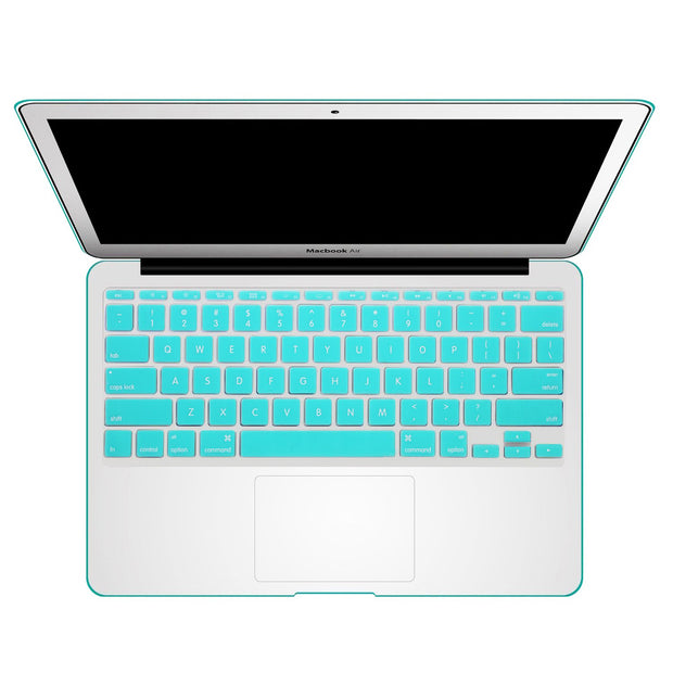 Macbook Keyboard Cover - Turquoise - colourbanana