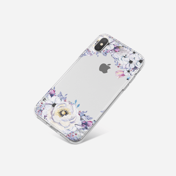 iPhone Case - Purple Peony