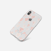 iPhone Case - Blushing Hearts