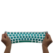 Macbook Keyboard Cover - Green Gradient - colourbanana