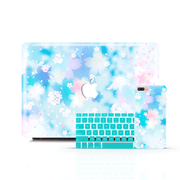MacBook Case Set - Japanese Cherry Blossom - colourbanana