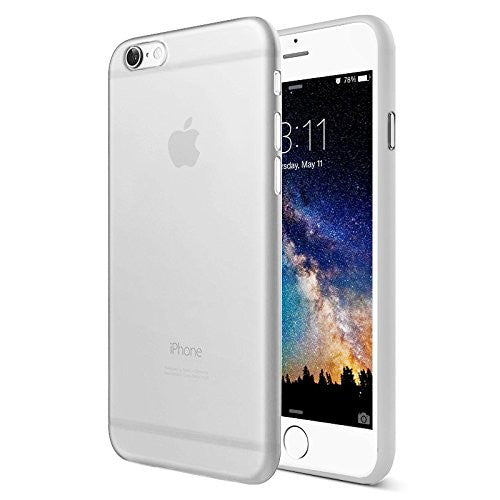 Premium Ultra Thinnest Light Slim iPhone Case - White - colourbanana