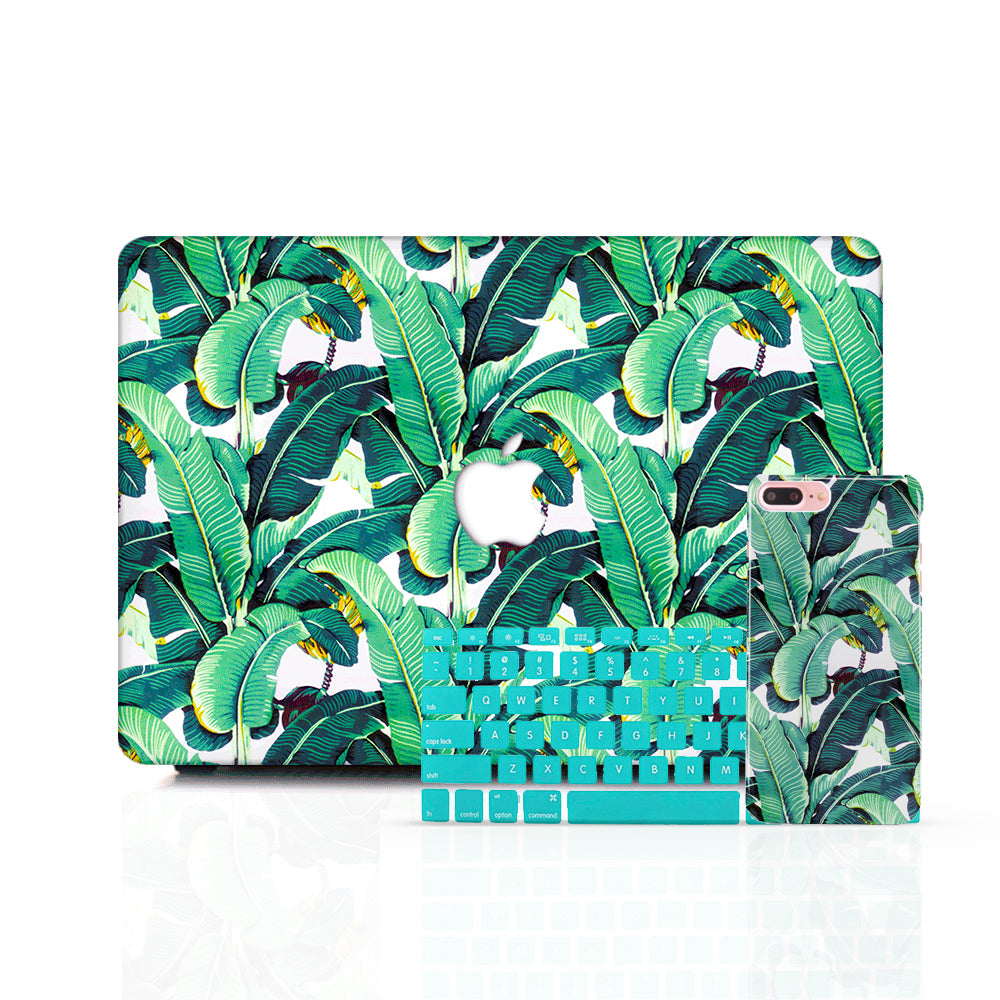 MacBook Case Set - Banana Palm