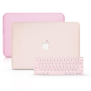 MacBook Case Set - Protective Peach Macbook - colourbanana