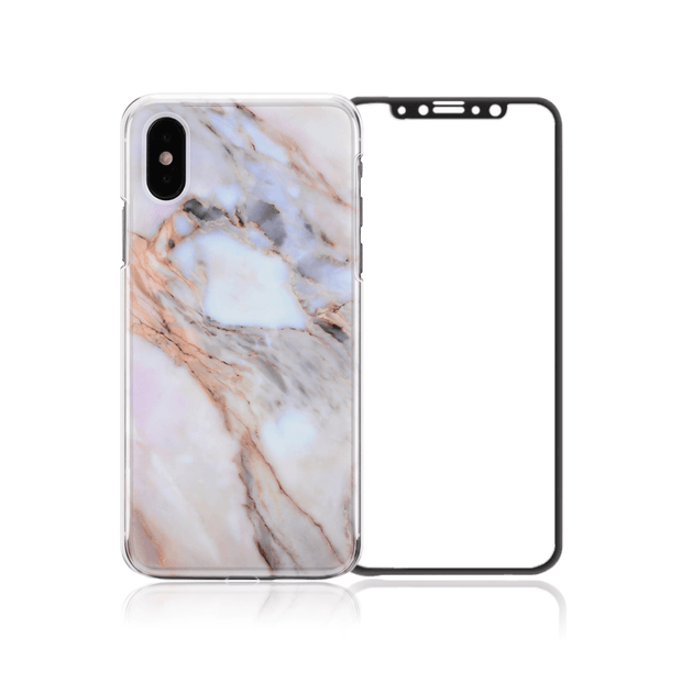 iPhone XS/Xs Mas/XR Package - Star Marble