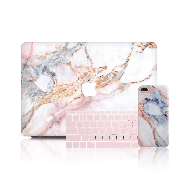 MacBook Case Set - Star Marble