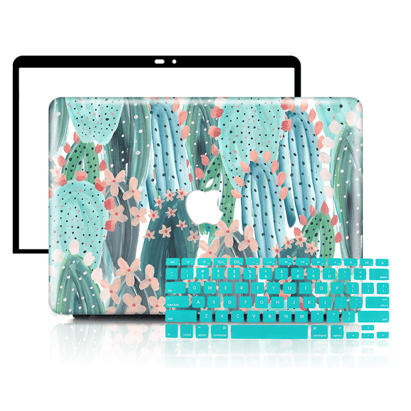 MacBook Case Set - 360 Summer Cute Cactus