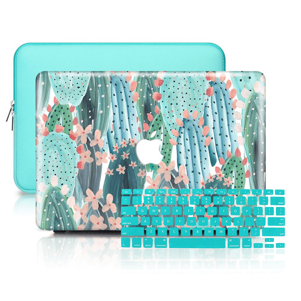 huge selection of f3ce8 3d322 MacBook Case Set - Protective Summer Cute Cactus