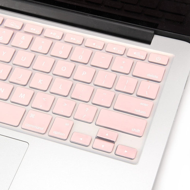Macbook Keyboard Cover - Baby Rose