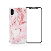 iPhone XS/Xs Mas/XR Package - Red Marble