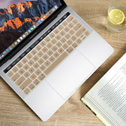Macbook Keyboard Cover - Gold